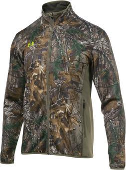 NWT Under Armour Men's ColdGear Scent Control Fleece Jacket