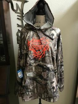 NWT Professional Hunting Gear Barrow Mossy Oak Hoodie Mens S