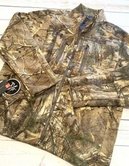 NWT Under Armour Realtree Men's Hunting Gear Camo Wool Jacke