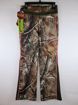 NWT Women's Under Armour Cold Gear Infrared Camo Hunting Pan