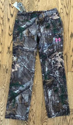 NWT Women's Under Armour All Seasons Gear Camoflauge Pants