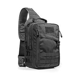 Yakeda Nylon Outdoor Gear Rover Sling Pack Cross Body Gun Ba