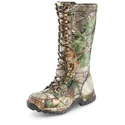 Guide Gear Mens Nylon Snake Boots, Waterproof, Side Zip