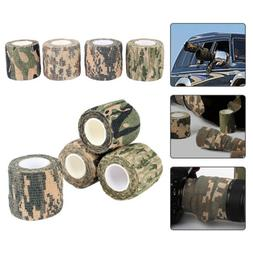 Outdoor Makeup Camo Duct Tape Camouflage Fabric Wrap Rifle G