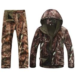 Outdoor Tactical Camouflage Hunting Clothing TAD Gear Jacket