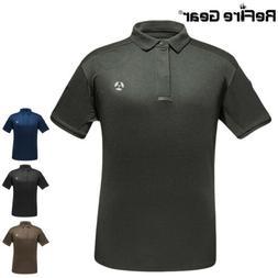 ReFire Gear Outdoor Tactical Polo Shirts Men Hunting Fish Hi
