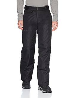Arctix Men's Essential Snow Pants, Black, Large/Tall