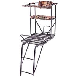 Oversized 18' Man Plus 1/2 extra room Ladder Tree Stand 350