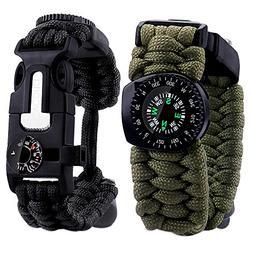 Cycorld Paracord-Bracelet-Tactical-Survival-Gear