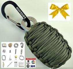 Paracord Survival Grenade EDC Kit | Ultimate Emergency  Mili