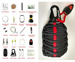 PREP2GO Paracord Survival Grenade Kit  Wilderness Military G