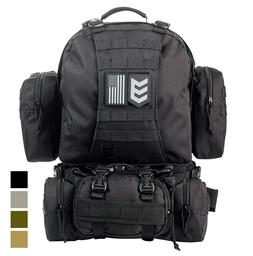 3V Gear Paratus 3-Day Operator's Tactical Backpack, Military