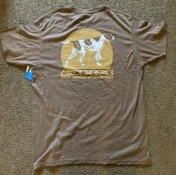 Columbia Performance Hunting Gear PHG Graphic T Shirt DOG Br
