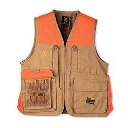 Browning Pheasants Forever Vest, TAN, LG