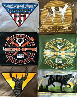 Columbia PHG Hunting Gear Men's  L XL T Shirt Buck Duck Dog