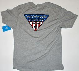 Columbia PHG Hunting Gear Short Sleeve Graphic T-Shirt Mens