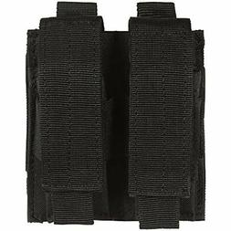 VooDoo Tactical 20-7975001000 Pistol Mag Pouch, Black, Doubl
