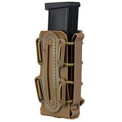 IDOGEAR 9mm Pistol Magazine Pouch Tactical Fastmag Soft Shel