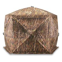 Portable 4 Person Ground Hunting Blind Pop Up Tent Buck Deer