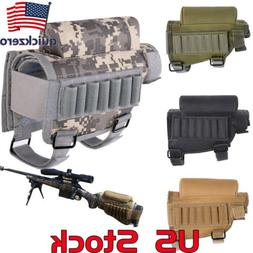 Portable Pouch Ammo Holder Bag  Buttstock Tactical Shell Com