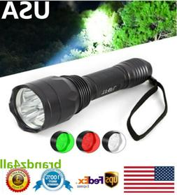 Predator 3 Cree LED Long Range Hunting Gear Tactical Flashli