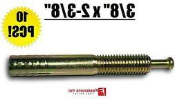 "3/8"" x 2-3/8"" Strike Pin Nailon Concrete Wedge Anchor Yello"