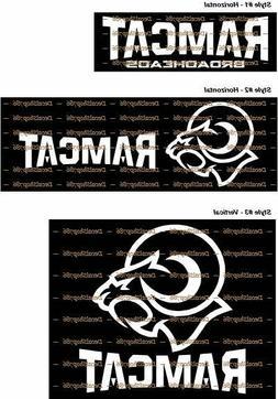RAMCAT Broadheads  - Archery/Hunting Gears  - Vinyl Die-Cut
