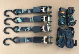 Guide Gear 8' Ratchet Straps 4 Pack