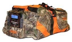 Scent Crusher REALTREE Camo Gear Bag w/Ozone Generator & AC