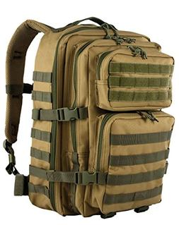 Red Rock Outdoor Gear Rebel Assault Pack, Coyote with Olive