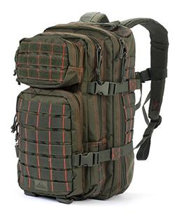 Red Rock Outdoor Gear Rebel Assault Pack, Olive Drab/Red