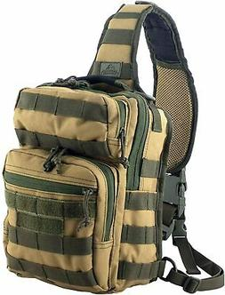 Red Rock Outdoor Gear Rover Sling Pack - Coyote w/Olive Drab