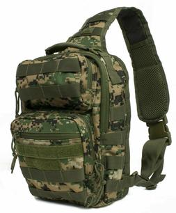 Red Rock Outdoor Gear Rover Sling Pack Woodland Digital One-
