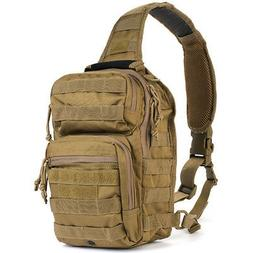 Red Rock Outdoor Gear Rover Sling Pack, Woodland Digital, On