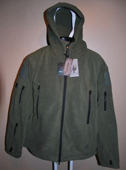 ReFire Gear Shark Skin Tactical Jacket Thermal Fleece Hoodie