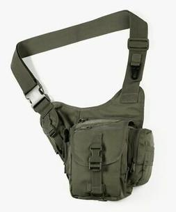 Red Rock Outdoor Gear Sidekick Sling Bag, Olive Drab, One-Si