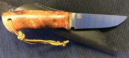 Finn Gear SIELUKAS Hunting Knife with fixedRWL-34 blade an