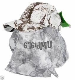 NATURAL GEAR Snow Camo Hat Camouflage Hunting Cap + Snow Mos