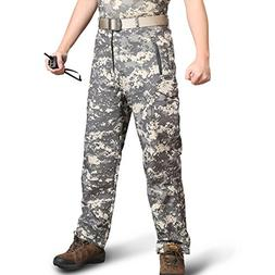 ReFire Gear Men Soft Shell Waterproof Tactical Outdoor Pants