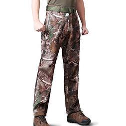 ReFire Gear Men Soft Shell Waterproof Tactical Outdoor Pants