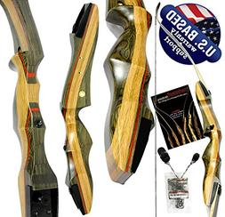 Spyder Takedown Recurve Bow & arrow by USA weights 20 25 30