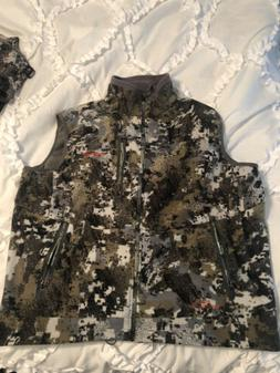 Sitka Gear Stratus Vest Elevated II Camo Size Medium