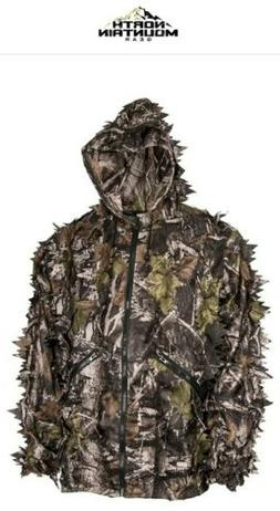 NORTH MOUNTAIN GEAR Super Natural Leafy Suit!!  SIZE-XL!