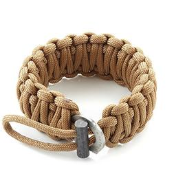 X-Plore Gear Survival Paracord 550 Bracelet Kit With Fire St