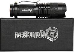 SWAT Tactical LED Flashlight - Small and Powerful Pocket Siz