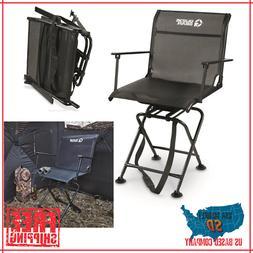 Swivel Hunting Blind Chair Quiet 360 Rotating Armrest Foldab