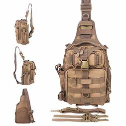BLISSWILL Outdoor Tackle Bag Multifunctional Water-Resistant