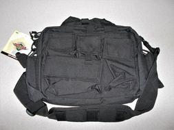 tactical attache carry bag case atlanco black