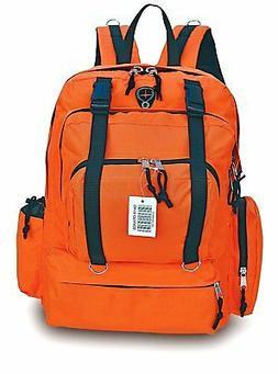 Explorer Tactical Backpack Blaze Orange 18.50 x 12.50 x 7-In