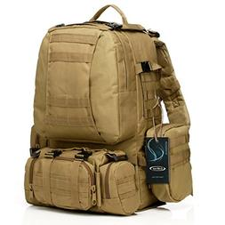 G4Free Tactical Backpack Military Outdoor 3-day Assault Pack